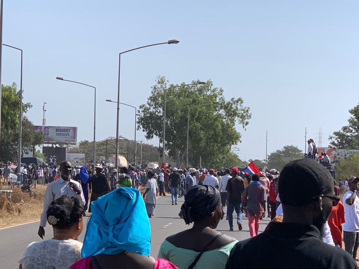 'Three years is enough': Why are Gambians protesting?